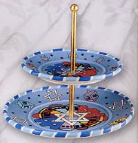 Jerusalem tidbit tray