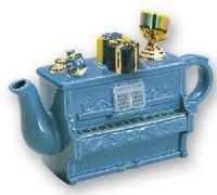 Large Piano Hanukah Teapot