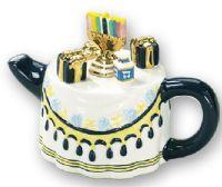 Mini Hanukah Teapot
